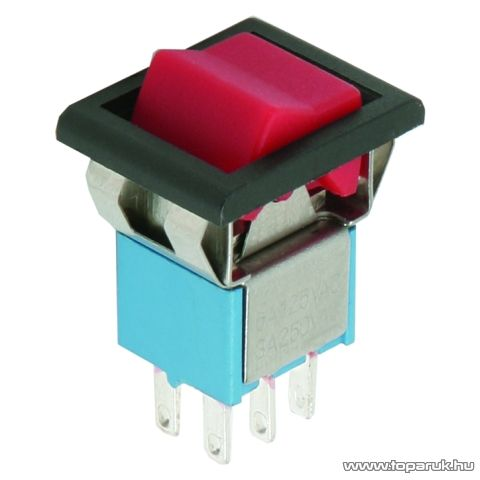 Billenő kapcsoló, 2 áramkör, 3A-250V, ON-ON, 5 db / csomag (09059PI) - készlethiány