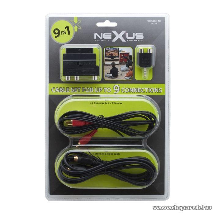 neXus 9 az 1-ben kábelszett (20319) - megszűnt termék: 2016. április