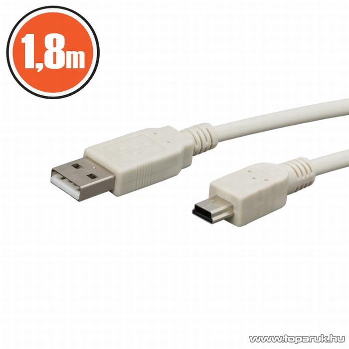 neXus USB kábel, A dugó - B dugó (mini), 3 m (20339)