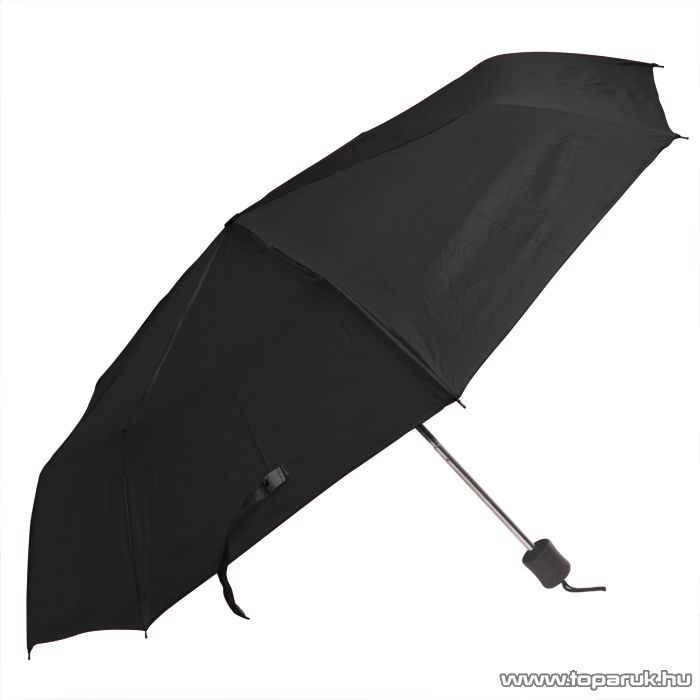 Összecsukható esernyő, 90 cm, fekete (57015BK) - készlethiány