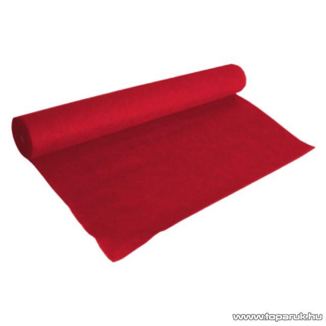 Hangfal kárpit, 150 x 1000 cm, piros (39510)