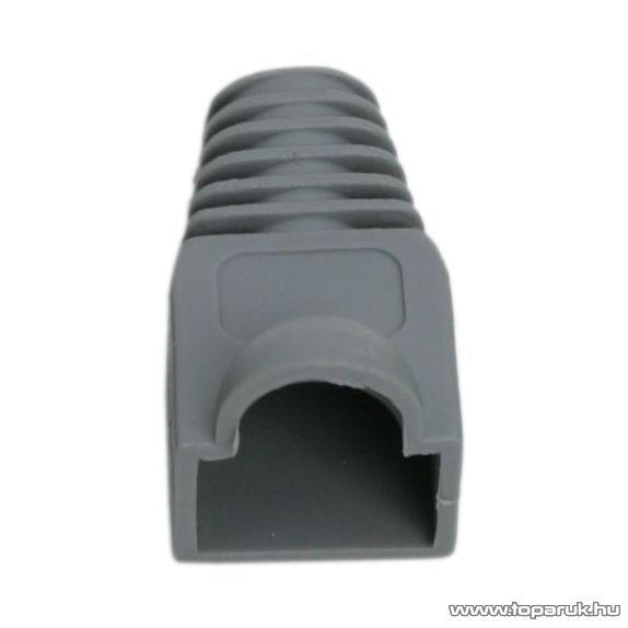 Törésgátló 8P8C moduláris dugóhoz, szürke, 100 db / csomag (05230SZ)