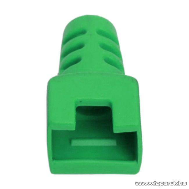 Törésgátló 8P8C moduláris dugóhoz, zöld, 50 db / csomag (05288ZO)