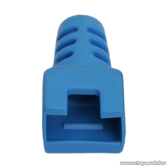 Törésgátló 8P8C moduláris dugóhoz, kék, 50 db / csomag (05288KE)