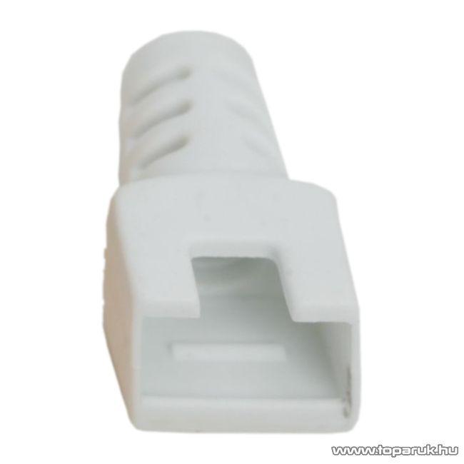 Törésgátló 8P8C moduláris dugóhoz, fehér, 50 db / csomag (05288FH)