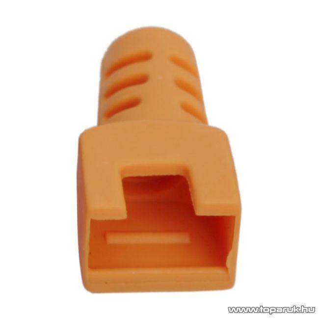 Törésgátló 8P8C moduláris dugóhoz, narancs, 50 db / csomag (05288NA)