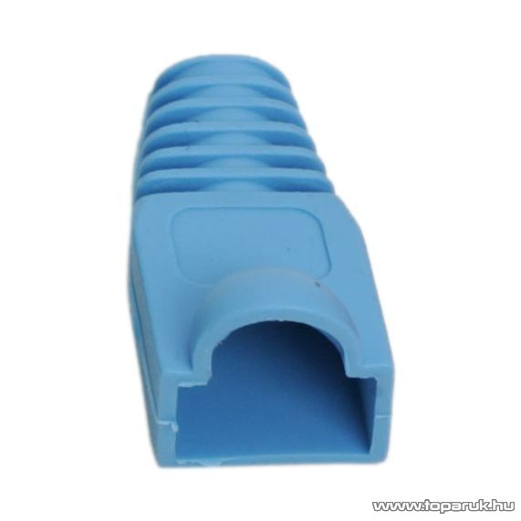 Törésgátló 8P8C moduláris dugóhoz, kék, 100 db / csomag (05230KE)