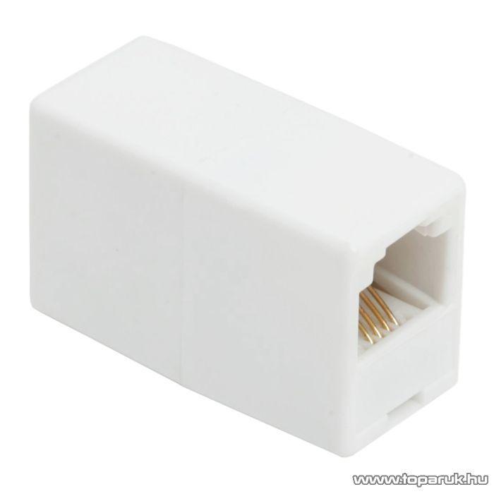 6P4C toldó aljzat - aljzat, fehér, 5 db / csomag (05221)