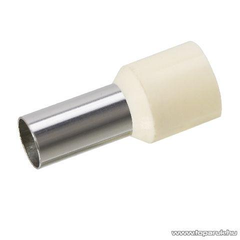 Érvéghüvely, 16 mm2-es vezetékekhez, vaj, 100 db / csomag (05491)