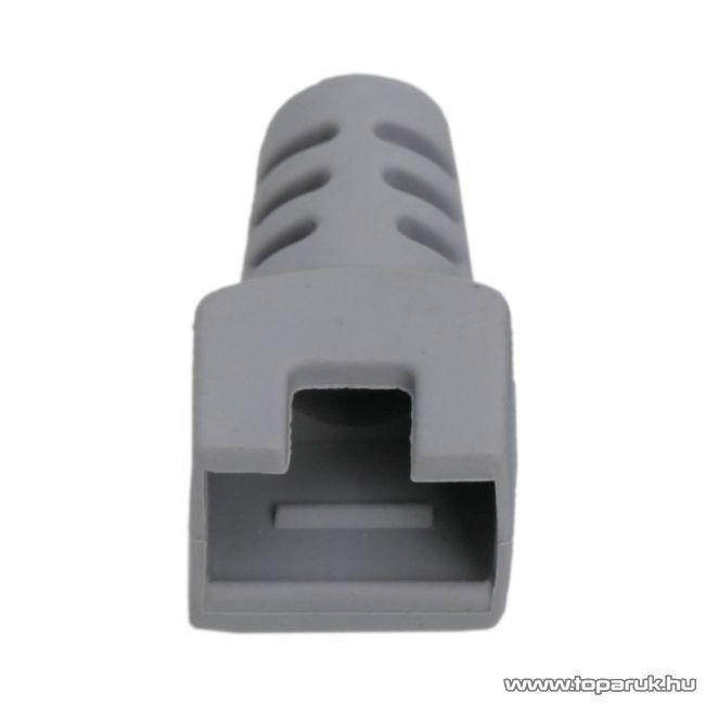 Törésgátló 8P8C moduláris dugóhoz, szürke, 50 db / csomag (05288SZ)