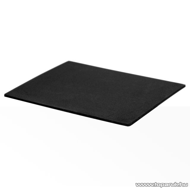 Hangszigetelő lap, öntapadós, 25 x 20 x 0.5 cm, fekete, 2 db / csomag (39507) - megszűnt termék: 2015. január