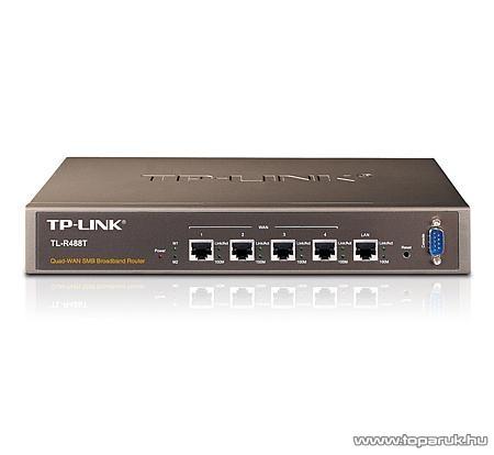 TP-Link TL-R488T Load Balance ADSL Modem + Router 4xWAN + 1xLAN porttal