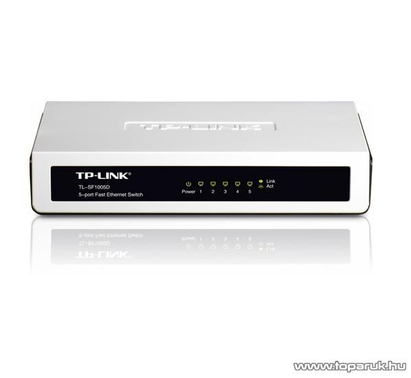 TP-LINK TL-SF1005D 5 portos Switch 10/100 Mbps