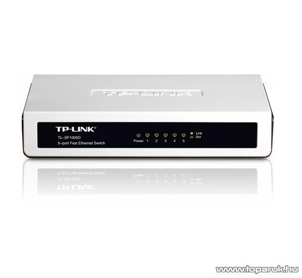TP-LINK TL-SF1005D 5 portos Switch 10/100 Mbps