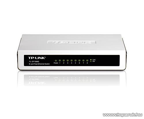 TP-LINK TL-SF1008D 8 portos Switch 10/100 Mbps