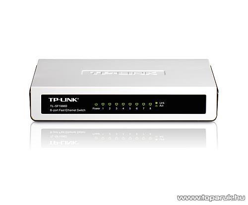TP-LINK TL-SF1008D 8 portos Switch 10/100 Mbps