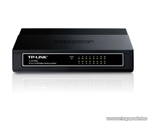 TP-LINK TL-SF1016D 16 portos Switch 10/100 Mbps