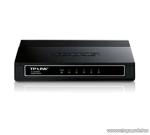 TP-LINK TL-SG1005D 5 portos Gigabit Switch 10/100/1000 Mbps