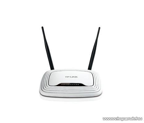 TP-LINK TL-WR841ND 300 Mbps Wireless (Wifi) Router, Cserélhető antennás