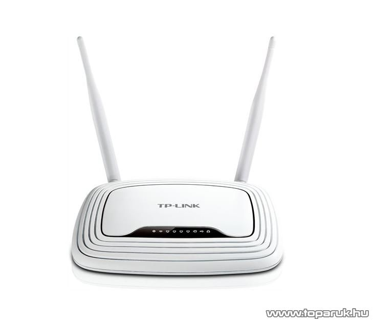 TP-LINK TL-WR842ND 300 Mbps Wireless N Wifi Router 2x2 MIMO Multifunkciós USB 2.0 Porttal