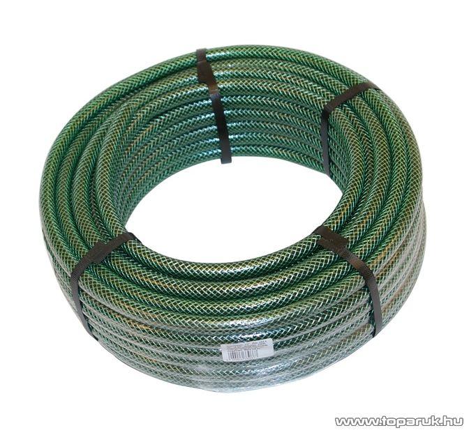 """POLIX BOS Locsolótömlő, 1/2""""-os, 25 m hosszú, zöld"""