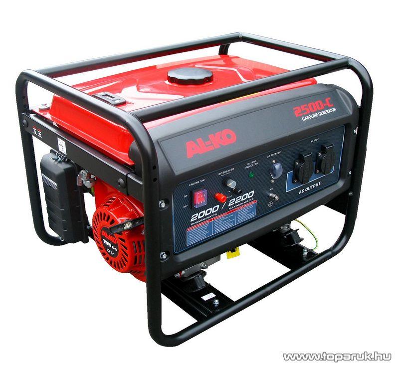 AL-KO 2500-C Benzines áramfejlesztő (generátor), 2200 W
