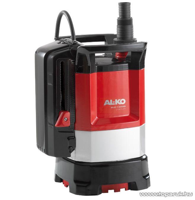 AL-KO SUB 13000 DS Premium szintkapcsolós merülő szivattyú, 650 W (tiszta vízre)