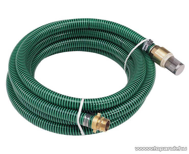 """AL-KO 110795 Szívócső készlet, sárgaréz talp szeleppel és csatlakozókkal, 7 méter, 1""""-os"""