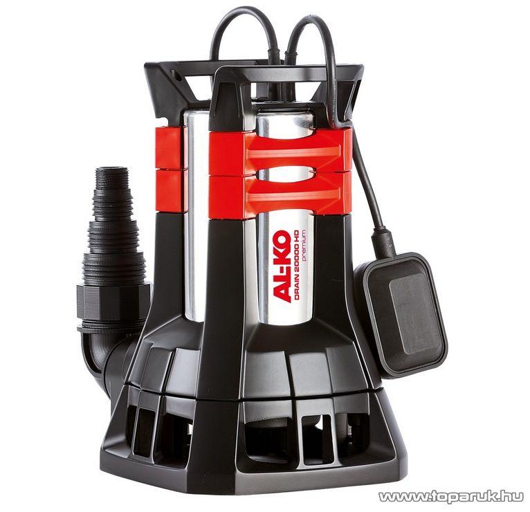 AL-KO Drain 20000 HD Premium Úszókapcsolós szennyvíz szivattyú, 1300 W (szennyezett vízre)