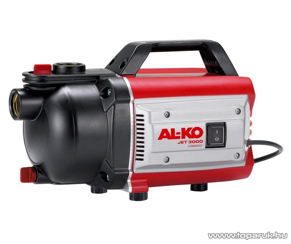 AL-KO JET 3000 Classic kerti szivattyú, 650W (tiszta vízre)