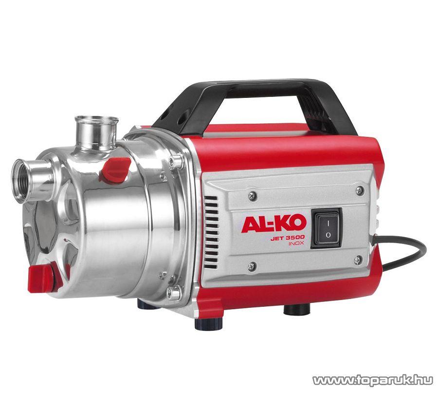 AL-KO JET 3500 INOX Classic kerti szivattyú, 850W (tiszta vízre)