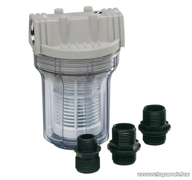 """AL-KO 110157 tartozék műanyag mosható előszűrő (filter) kerti szivattyúkhoz, 100/1""""-os"""