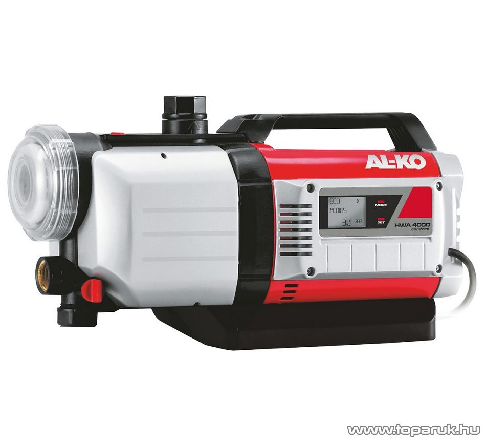 AL-KO HWA 4000 Comfort Házi vízellátó automata, keri szivattyú, 1000 W (tiszta vízre)