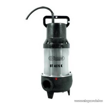 Elpumps BT 4876 K Darabolós szennyvíz szivattyú, fekáliaszivattyú relével, 900 W (szennyezett vízre)