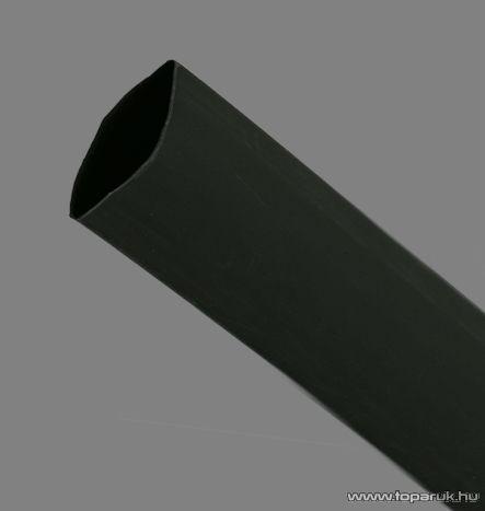 Zsugorcső, fekete, 50 / 28 mm, 2 m / csomag (11030F)