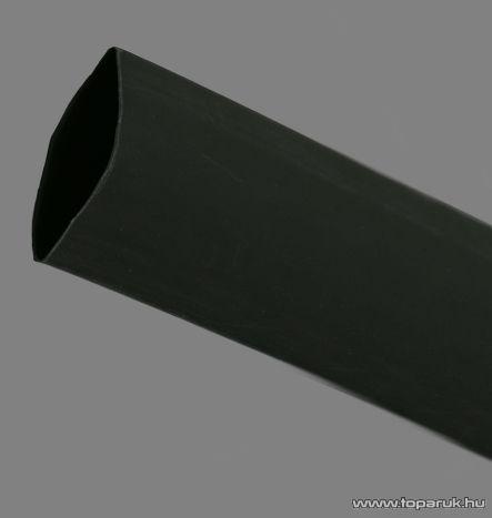 Zsugorcső, fekete, 60 / 30 mm, 2 m / csomag (11031F)