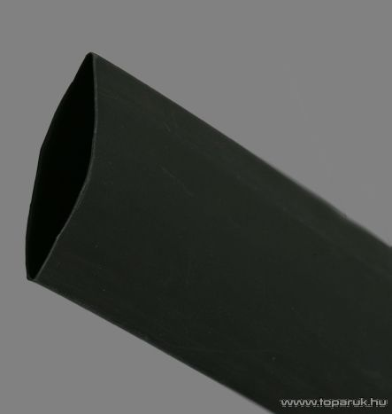 Zsugorcső, fekete, 70 / 35 mm, 2 m / csomag (11032F)